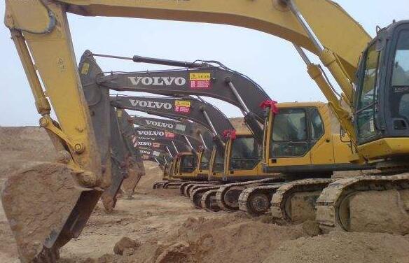 张家港工程建设挖机租赁